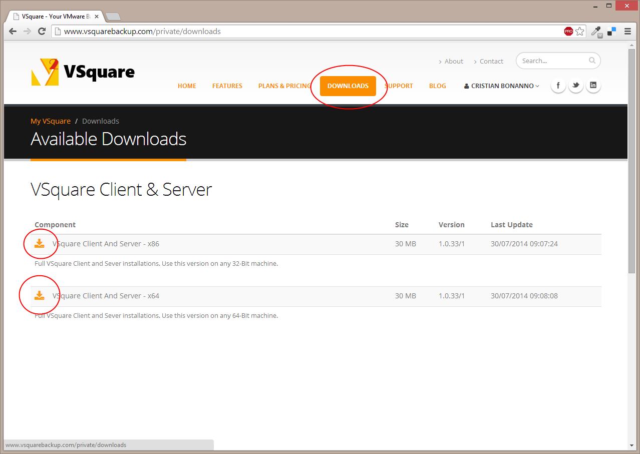VSquare - Your Backup Solution for VMware and Hyper-V
